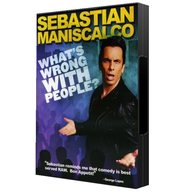Sebastian Maniscalco AUTOGRAPHED DVD- What's Wrong With People
