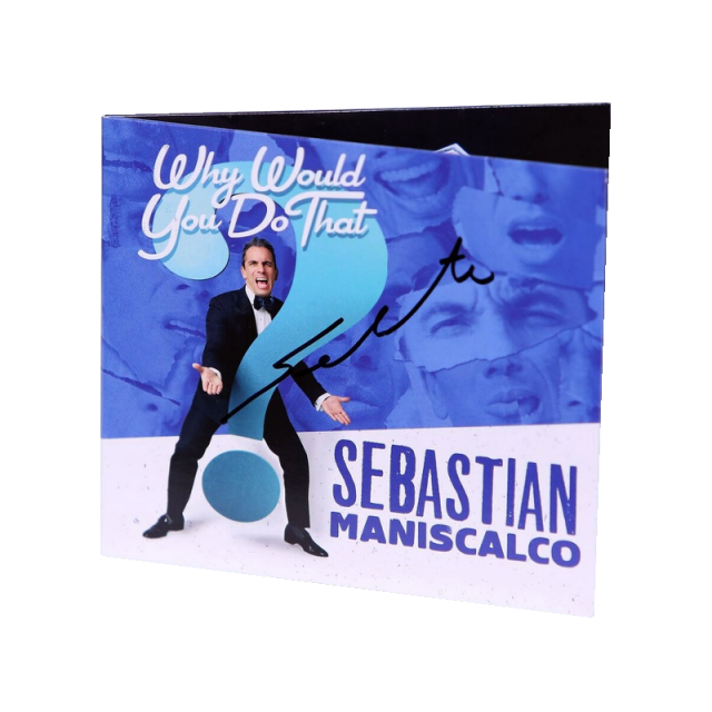 Sebastian Maniscalco AUTOGRAPHED DVD- Why Would You Do That?