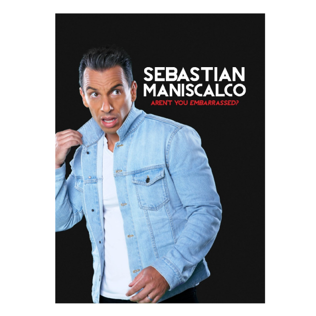 Sebastian Maniscalco AUTOGRAPHED DVD- Aren't You Embarrassed